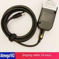 (Installation Easily) Auto COM 19.6.2 hex Diagnostic V2 USB Interface FOR VW AUDI Skoda Seat 19.6 English ATMEGA162+16V8+FT232RL