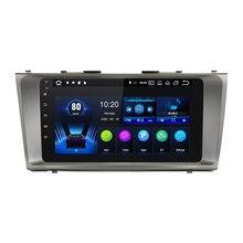 Автомобильный радиоприемник, мультимедийный плеер для Toyota Camry 40 2006-2011, Авторадио 2Din, Android 10,0, GPS-навигация, магнитофон, стерео