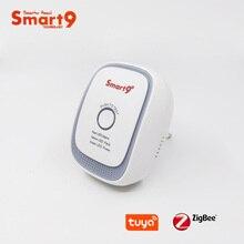 Smart9 ZigBee LPG детектор газа работает с TuYa ZigBee концентратор, контроль датчика горючего газа и сигнализация для Smart Life App
