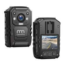 CammPro i826 Polizei Infrarot Körper Kamera 1296P HD 128GB IP66 Wasserdicht Mit GPS Nachtsicht Persönlichen Outdoor Kamera
