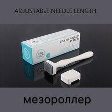 ไทเทเนียมMozoroller Derma Rollerรักษาผมร่วงRegrowth Micro Needling Roller Facial Skin Careเครื่องมือความงามDrop Shipping