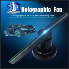 3d вентилятор голограмма рекламный проектор Дисплей голограмма вентилятор голографической визуализации лампа 3D Дисплей реклама Wi-Fi логоти...