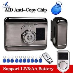 Elektronisch Slot Aid Chip Lock Eenvoudige Smart Card Sloten Draadloze Rfid Kaartlezer Deursloten Keyless Entry