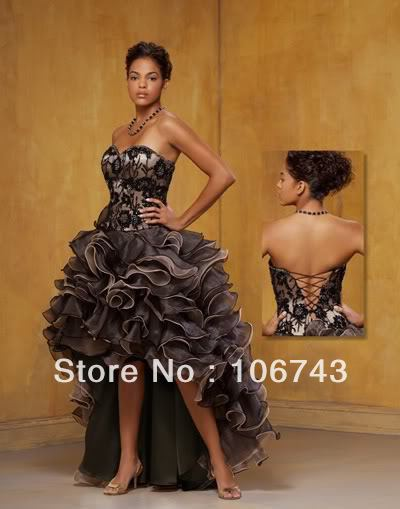 Free Shipping 2016 New Style Hot Sale Sexy Bride Wedding Sweet Princess Custom Size Ruffles Tiered Prom Dress