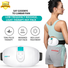 Lumbar Massage Pulse Infrared Light Therapy Low Frequency Magnetic Effect Lumbar Spine Phys
