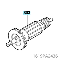 220V 240V Armature Rotor for BOSCH GDS18E 1619PA2436 Power Tool Accessories Electric tools part