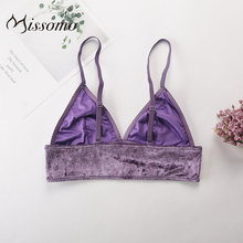 Missomo Hot Lace Bras For Women Sexy VS BH Sheer Bralet Modis Silk Push Up Wide Bralette Plus Size Cup Brassiere Lingerie Top