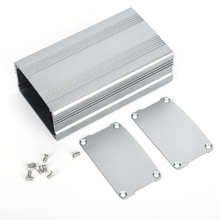 DIY Housing Instrument Case Gray Aluminum Project Box Electronic Product Heat Dissipation Case Shell Housing 38x63x110mm aluminum housing project box case heat dissipation shell housing 32x82x110mm enclosure box