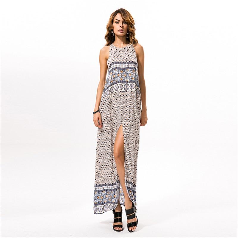 Vintage Dress Long Bohemian Dress Elegant Summer Clothes For Women Maxi Dresses Woman Party Night Plus Size Women Robe Femme Dresses  - AliExpress