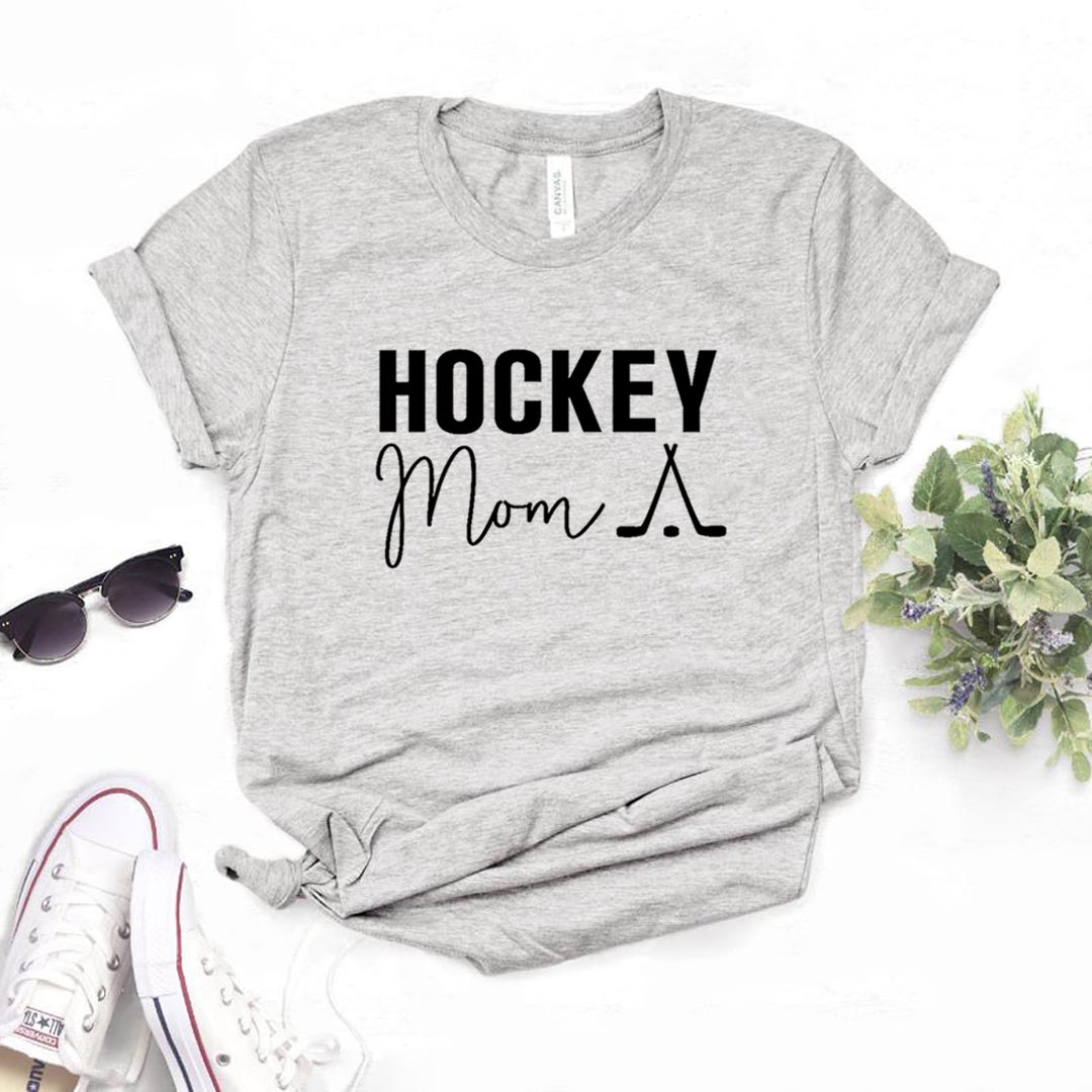 Hockey Mom Print Women Tshirts Cotton Casual Funny T Shirt For Lady  Yong Top Tee Hipster 6 Color NA-816