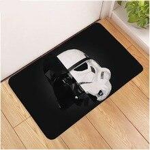 Disney 40x60cm Baby Play Mat Non-slip Star War Door Mat   Bathroom Kitchen Rug Doormats Soft Indoor Door Mats