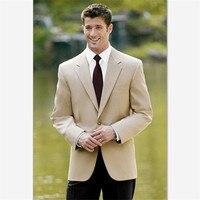 Men's Suits (Jacket+Pants) for Wedding Custom Notch Lapel Groom Tuxedos for Men New Arrival Suits Prom Bridegroom Groomsman