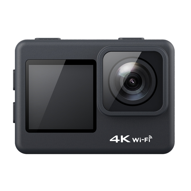 F38 EIS Anti-Shake Action Camera 4K 60Fps WiFi 2.0 Inch IPS Screen Underwater Waterproof Cam Vedio