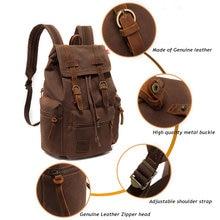 Рюкзак tamara мужской холщовый винтажный ранец школьная сумка