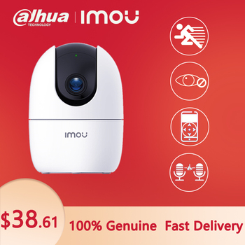 Dahua IP Camera Surveillance Imou Ranger 2 WIFI 1080P Baby Bonitor Night Vision Home Security  360° Motion Detect Two-Way - discount item  48% OFF Video Surveillance