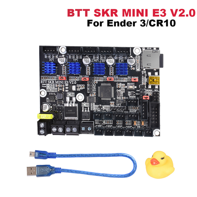 BIGTREETECH SKR Mini E3 V2 Control Board 32Bit TMC2209 Driver For Creality CR10 Ender 3 Pro/5 Upgrade SKR V1.4 3D Printer Parts