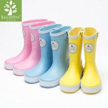 Shoes Rain-Boots Rubber Baby Kids Children Cute Girl Cartoon Kocotree Boys Printed