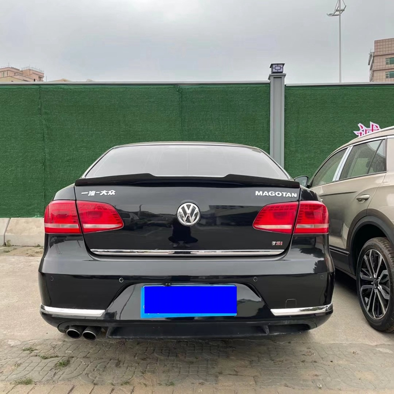 Passat B7 2012-2016 spoiler for Volkswagen Passat B7 spoiler Magotan carbon fiber rear spoiler M4 style