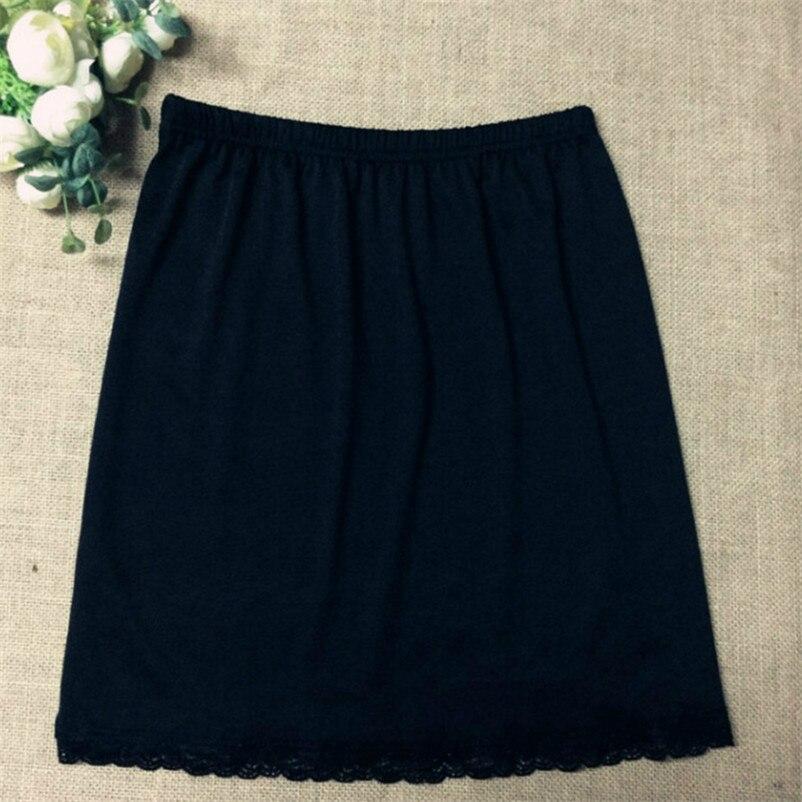 Cotton Underskirt Women Petticoat Lace Underskirt Girl  Mini Half Slip Femme Short Mini Inner Skirt  Jupon Femme Sexy Clothes