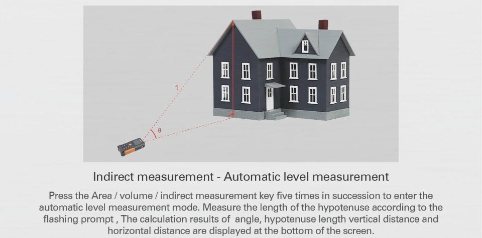 Automatic level measurement