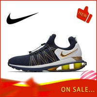 Original authentic NIKE SHOX GRAVITY men's running shoes breathable outdoor fashion sports shoes breathable 2019 new AR1999 400