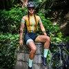 Mulher profissão frenesi triathlon terno roupas ciclismo skinsuit corpo conjunto rosa roupa de ciclismo macacão go pro equipe kits 22