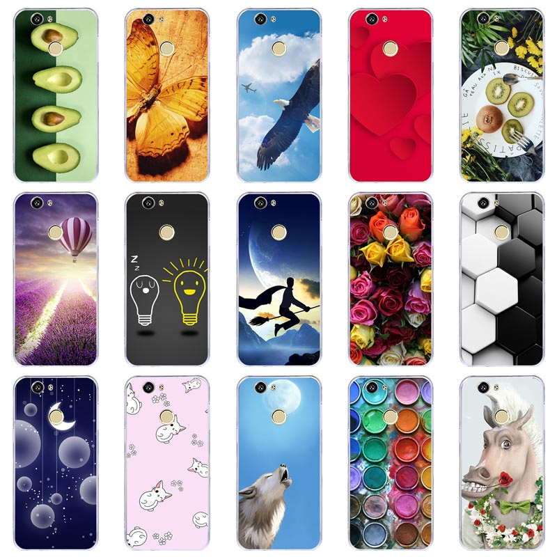 Lamocase Phone Case For Huawei Nova CAN L12 CAN L11 CAN L01 CAN L02 CAN L03 CAN L13 CAZ AL10 Silicone Painted Cover  Fitted Cases    - AliExpress
