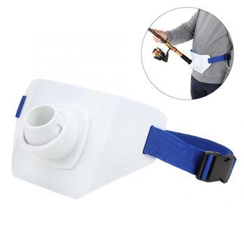 Soporte ajustable profesional, cinturón de cintura para pescar de 360 grados, soporte giratorio para caña de pescar, soporte para el vientre, herramienta de pesca