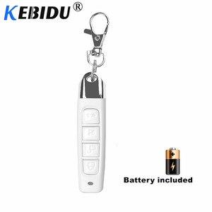 Image 2 - KEBIDU 433MHZ Remote Control Garage Gate Door Opener Remote Control Cloning Code Car Key Duplicator Clone 12V Transmitter Newest