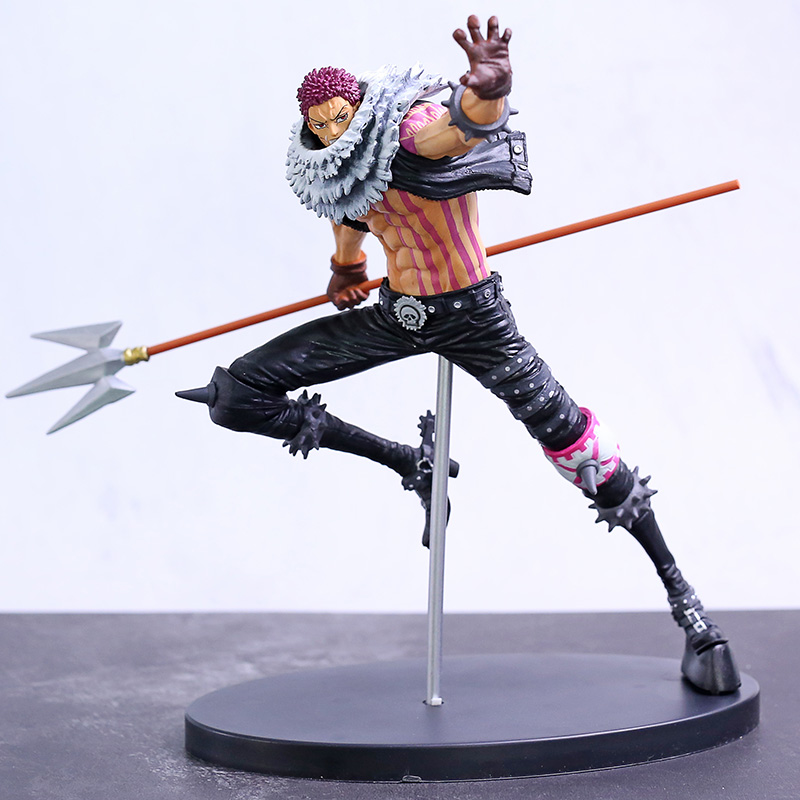 <font><b>One</b></font> <font><b>Piece</b></font> BWFC Charlotte <font><b>Katakuri</b></font> PVC <font><b>Figure</b></font> Collectible Model Toy image