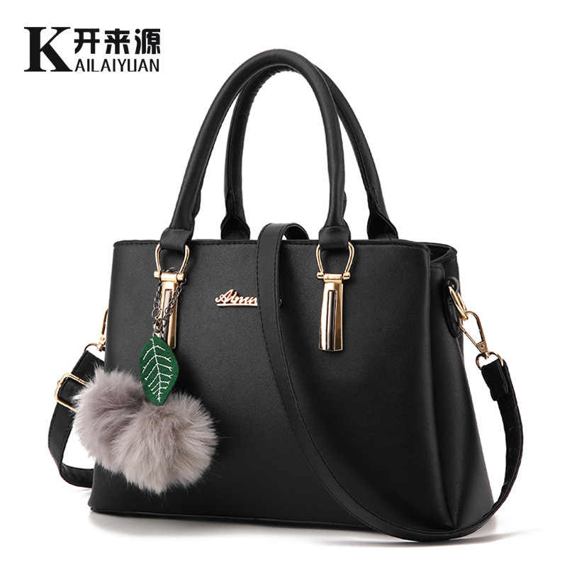 100% Genuine leather Women handbags 2019 new female bag fashionista embossed shoulder bags of western style air bag