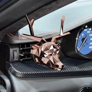 Image 4 - No Box No Profumo Fresco di Disegno Dei Cervi Bulldog Bevanda Rinfrescante di Aria Auto Profumo Buon Odore per Auto Diffusore Auto Aromatizzanti