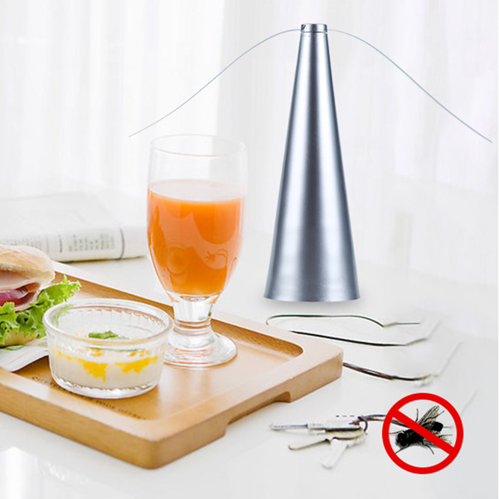 Fly Destroyer Propellor Table Food Protector Fly Destroyer Trap Mosquitoes Insect Killer Pest Reject Automatic Mosquitoes Insect-3