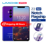 UMIDIGI Z2 Special Edition Helio P23 2.0GHz 19:9 6.2 FHD+Full Screen 4G+64GB Android 8.1 Telephone 18W Fast Charge Face Unlock