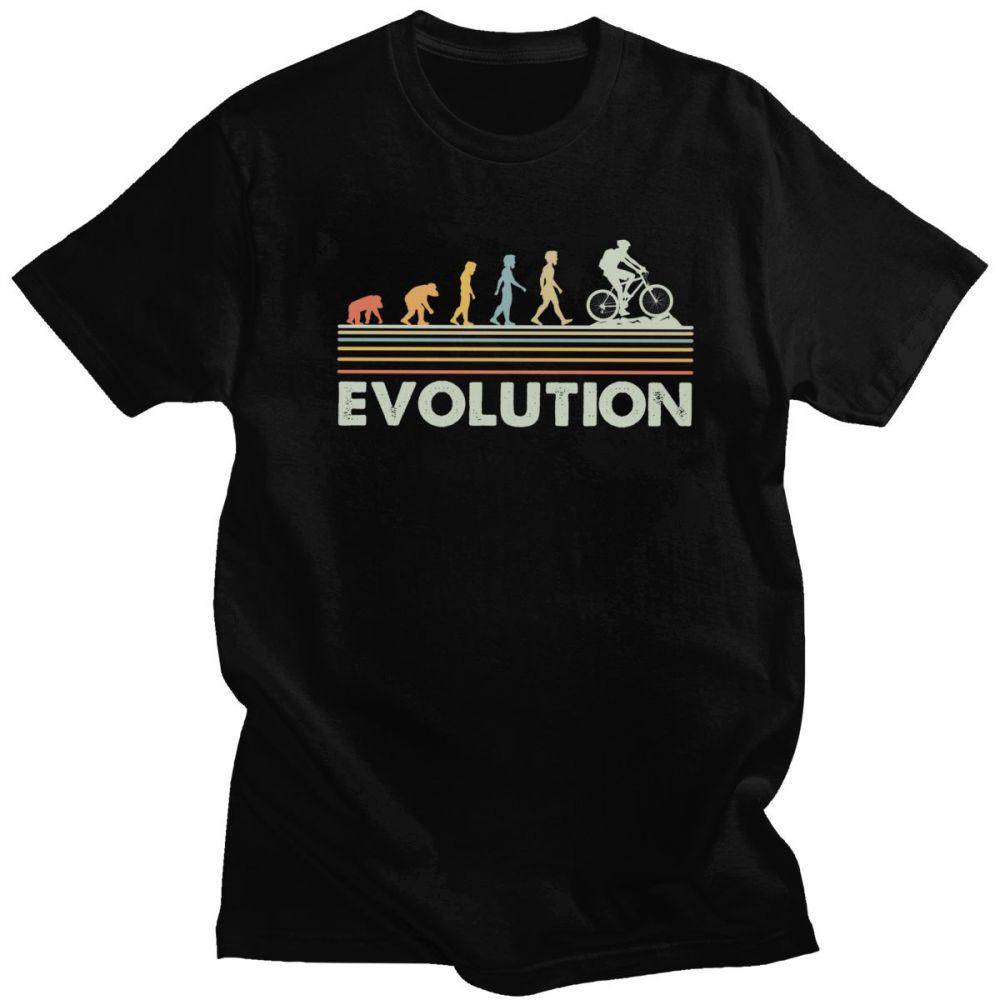 T-shirt Evolution cyclisme vélo Créer Son T Shirt