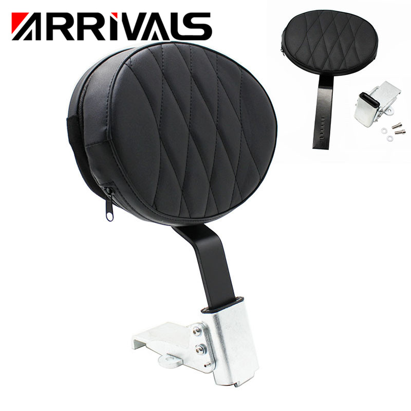 Motorcycle  Backrest Driver Rear Backrest Cushion Pad For Victory Cross Roads Models 2010-2014 Hard-Ball 12-13 Cross Country