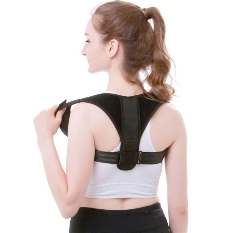Men Women Back Posture Corrector Clavicle Spine Back Shoulder Lumbar Brace Support Belt Adjustable Medical Posture Correction