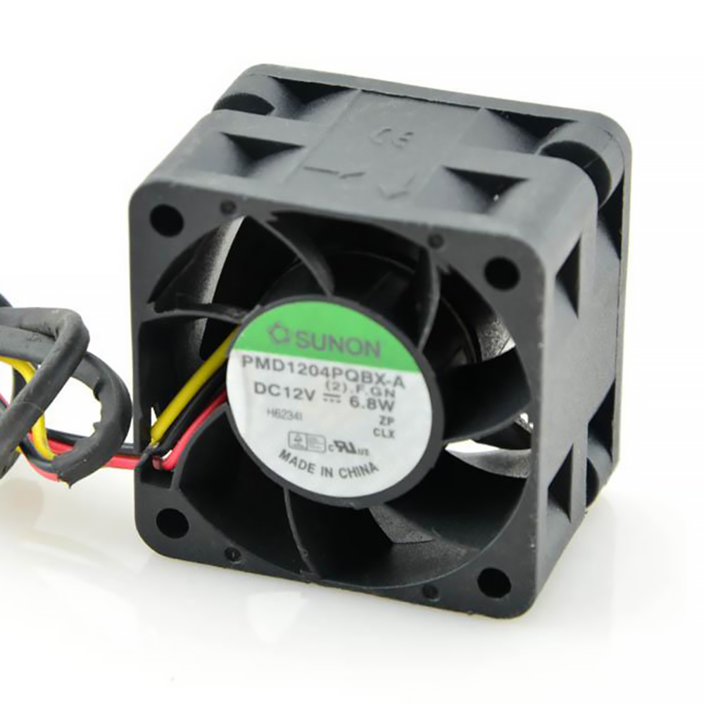 SUNON Orginal PMD1204PQBX-A 4CM 4028 12V 6.8W High- Speed Server Fans 40*40*28mm
