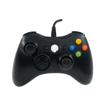 Przewodowy kontroler USB do konsoli Xbox 360 przewodowy kontroler joysticka tanie i dobre opinie SALLEN Microsoft Xbox360 CN (pochodzenie) Gamepady