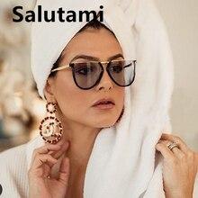 Irregular Alloy Square Women Brand Sunglasses 2020 New Fashi