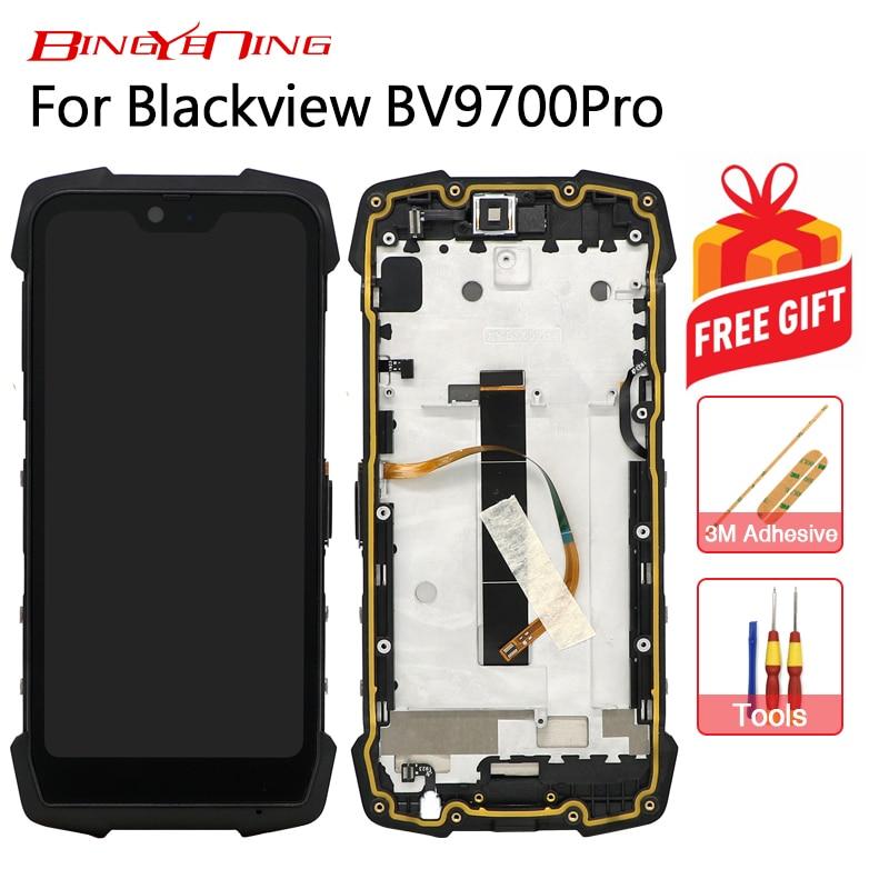 BingYeNing nouveau Original pour Blackview BV9700 pro écran tactile + cadre LCD affichage assemblage remplacement