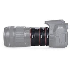 Image 5 - Mount Lens Adapter Auto Focus AF Macro Extension Tube Ring For Canon EOS EF S Lens 750D 80D 7D T6s 60D 7D 550D 5D