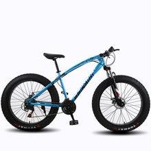 Entrega gratuita 21 velocidade mountain bike 26*4.0 gordura pneu bicicletas amortecedores bicicleta neve