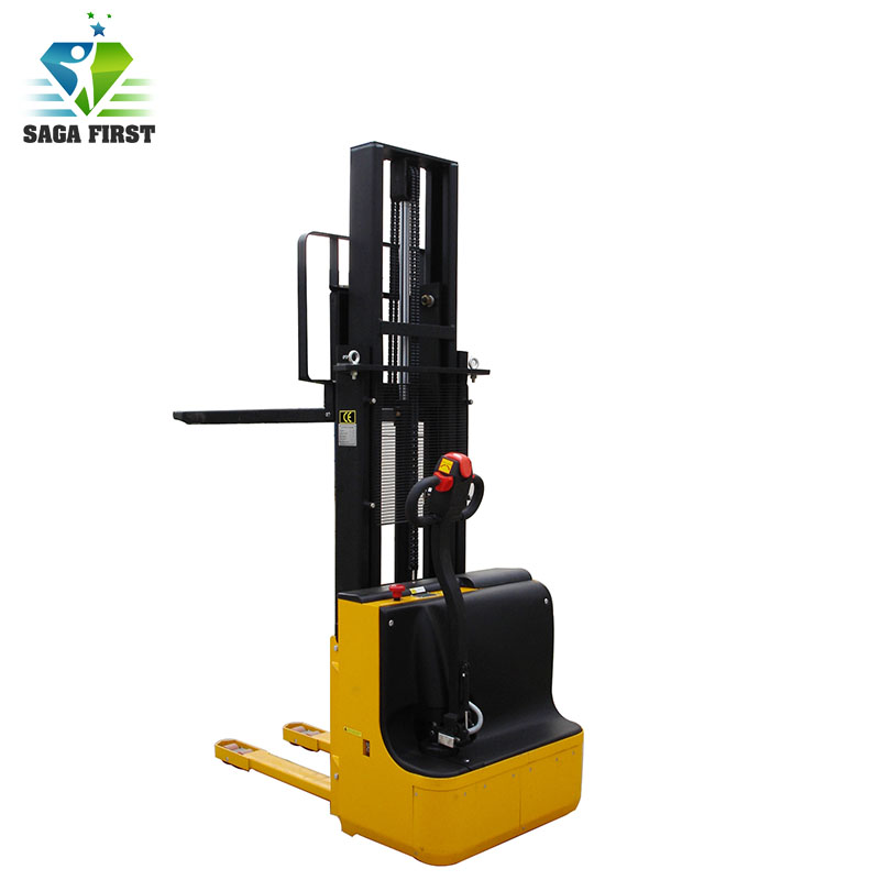 Workshop Equipment Self-Lift Stacker Folding Forklift With High Quality
