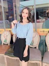 Осень 2020 шифоновая рубашка с длинными рукавами женская дизайнерская