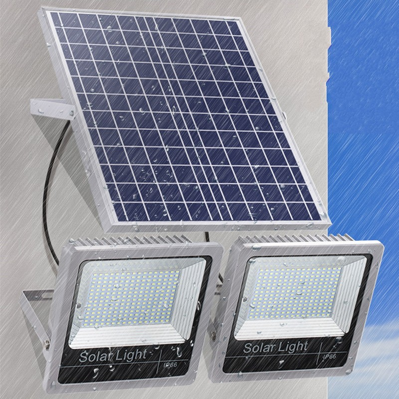 1pc Industrial Lamp 120W 150W 180W 200W Led Flood Light Outdoor Lighting Solar Floodlight Spot lights Street Garden Lamp