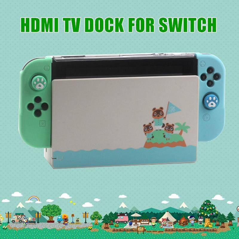 Limited Animal Crossing Charging Dock Case Set For Nintendos Ns