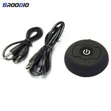 цена на Multipoint Wireless Bluetooth Transmitter Aptx H-366T Bluetooth 4.0  Audio Adapter 3.5mm Jack Stereo Music AUX For PC TV Speaker