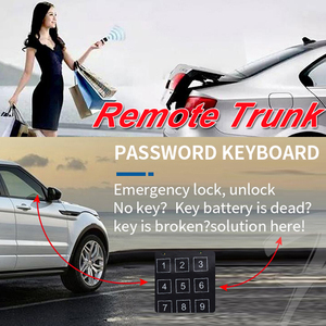 Image 5 - Cardot Pke Passive Keyless Entry System Remote Start Push Start Stop Button Auto Remote Car Alarm