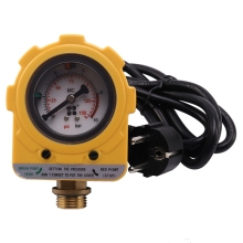 220V Pressure Control Switch 10 Bar Pressure Controller Unit Electronic Switch for Water Pump EU Plug